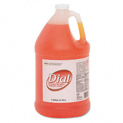 Liquid Dial Liquid Gold Antimicrobial Soap  Floral Fragrance  1 gal Bottle