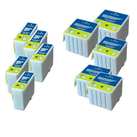 Compatible Multipack Epson T050/T053 5 Full Sets Ink Cartridges (Replaces S020093/S020110)