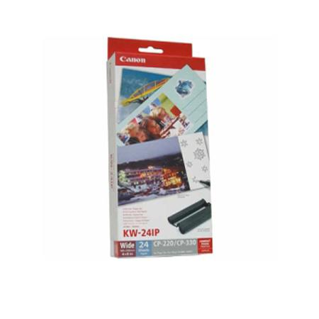 Canon KW-24IP Colour Ink/Wide Paper Set  - 24 Sheets