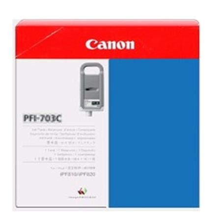 Canon PFI-703C Original Cyan Ink Cartridge
