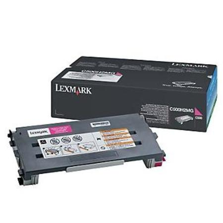 Lexmark C500 Original Magenta High Yield Toner Cartridge
