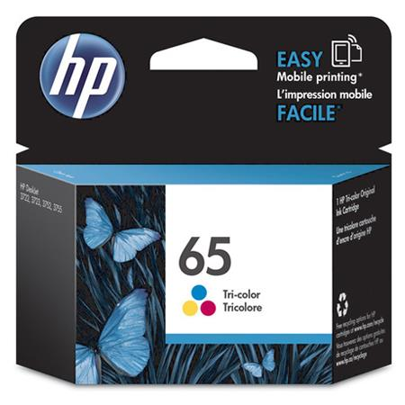 HP 65 (N9K01AN) Tri-Color Original Standard Capacity Ink Cartridge
