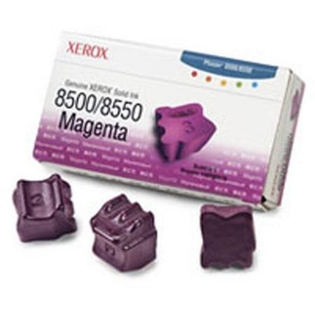 Xerox 108R00670 Original Magenta Ink Sticks (Pack of 3)-USA Made