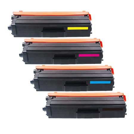 Compatible Multipack Brother TN431BK/C/M/Y Full Set Standard Capacity Toner Cartridges