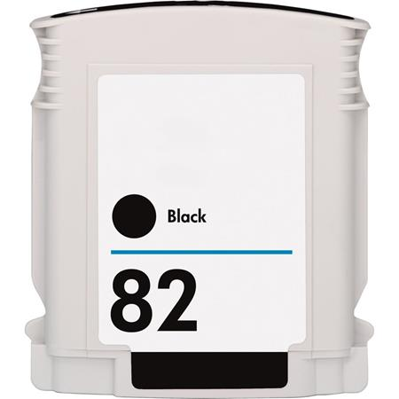 HP 82 (CH565A) Black Remanufactured Ink Cartridge