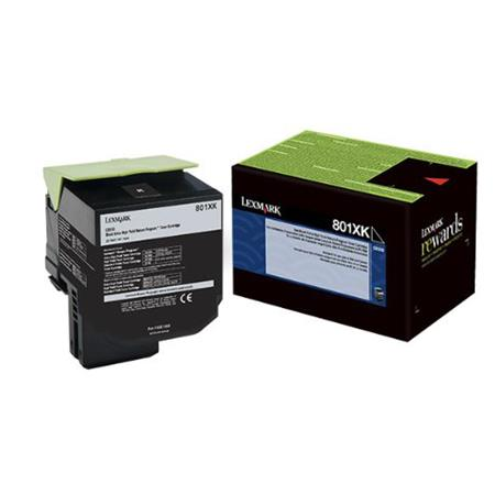 Lexmark 80C1XK0 Black Original Extra High Capacity Return Program Toner Cartridge