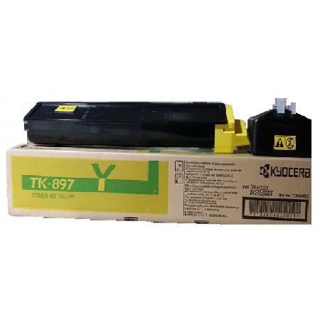 Kyocera Mita TK-897Y Yellow Original Toner Cartridge