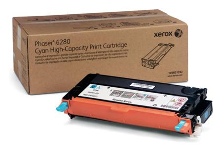 Xerox 106R01392 Cyan Original High Capacity Toner Cartridge