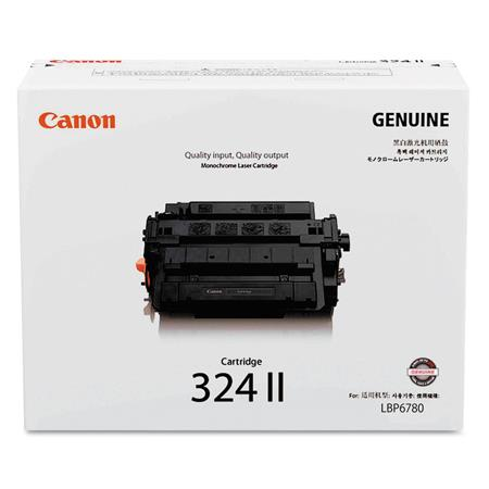 Canon 324 II Black Original High Capacity Toner Cartridge (3482B013)