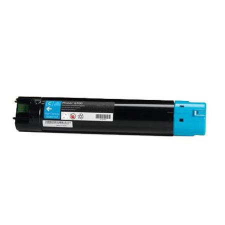 Compatible Cyan Xerox 106R01507 High Yield Toner Cartridge