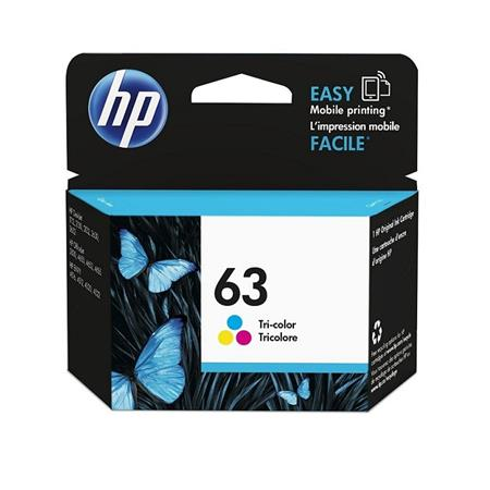 HP 63 Color Original Ink Cartridge (F6U61AN)
