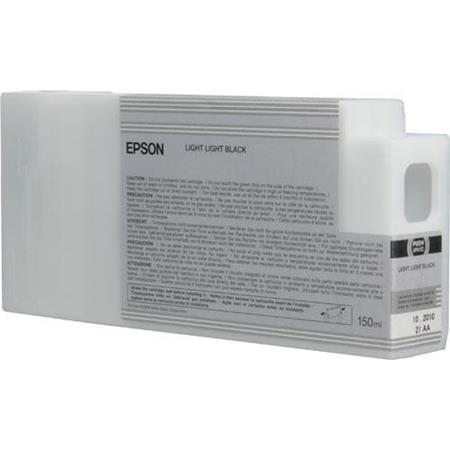 Epson T8349 (T834900) Light Light Black Original UltraChrome HDX Ink Cartridge (150 ml)