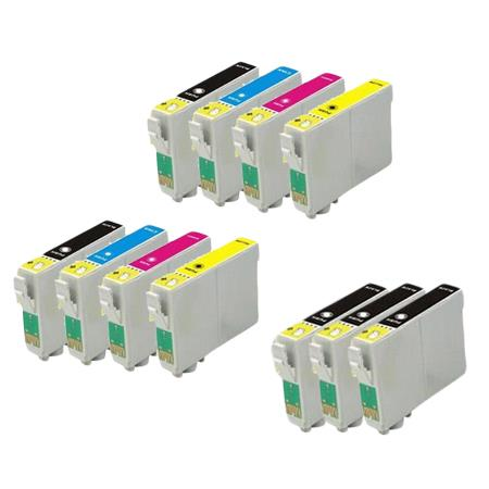 T0691/924 2 Full Sets + 3 EXTRA Black Remanufactured Inks