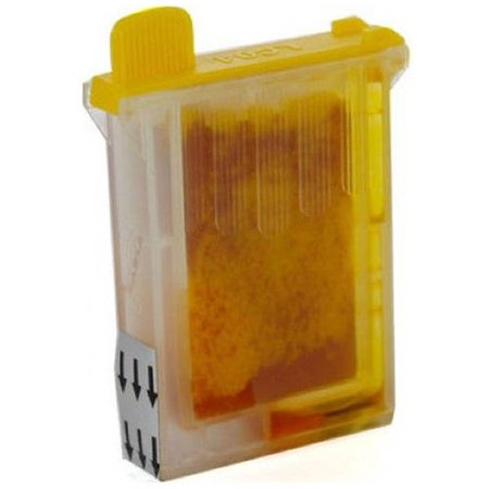Brother LC04Y Yellow Compatible Printer Ink Cartridge