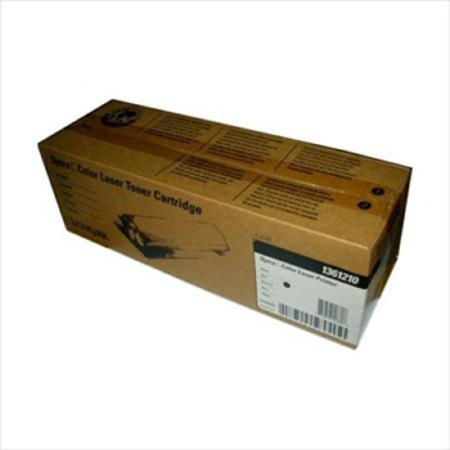 Lexmark 1361210 Original Black Toner Cartridge