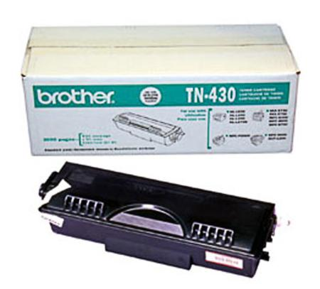 Brother TN430 Original Black Standard Capacity Laser Toner