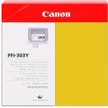 Canon PFI-303Y Original Yellow Ink Cartridge