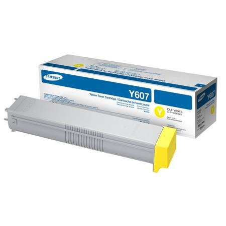 Samsung CLT-Y607S Yellow Original Standard Capacity Toner Cartridge