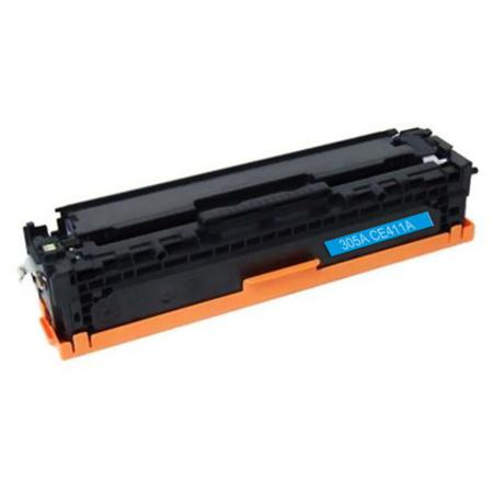HP 305A Cyan Remanufactured Standard Capacity Toner Cartridge (CE411A)
