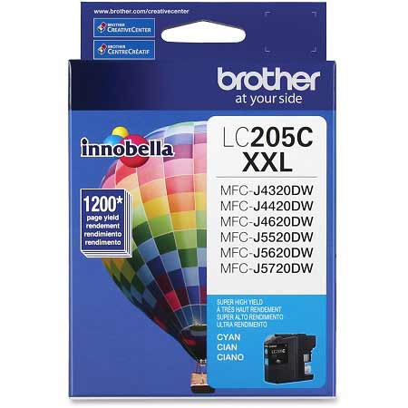 Brother LC205C Original Cyan Extra High Capacity Ink Cartridge