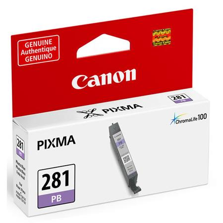 Canon CLI-281PB Photo Blue Original Standard Capacity Ink Cartridge