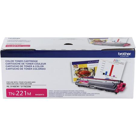 Brother TN221M Magenta Original Standard Capacity Toner Cartridge
