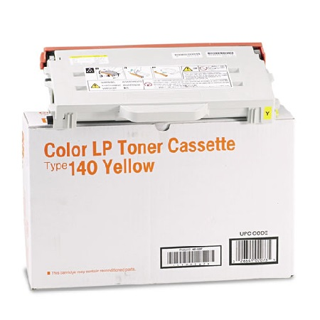 Ricoh Type 140 Yellow Original Toner Cartridge