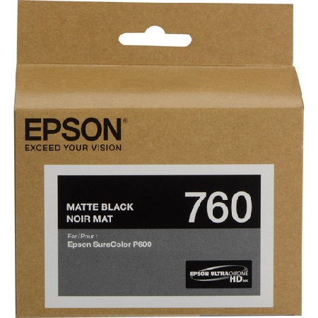 Epson T7608 (T760820) Matte Black Original Ink Cartridge