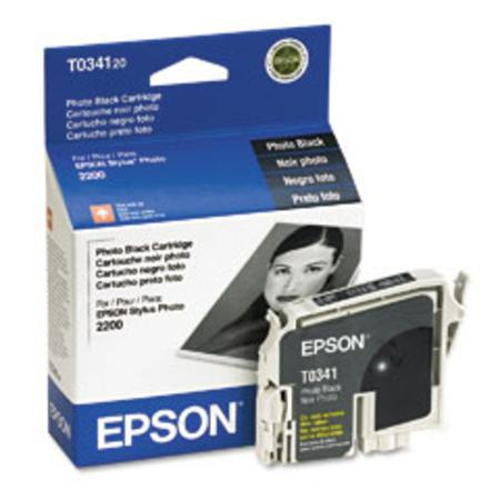 Epson T0341 (T034120) Original Black Ink Cartridge