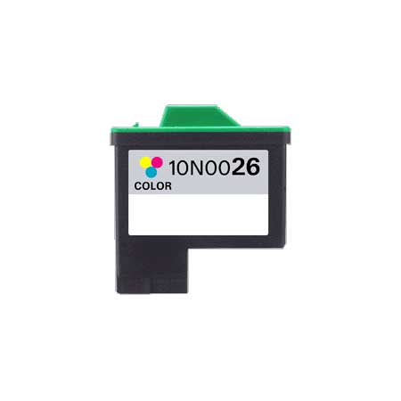 Lexmark No. 26 (10N0026) Color Remanufactured Print Cartridge