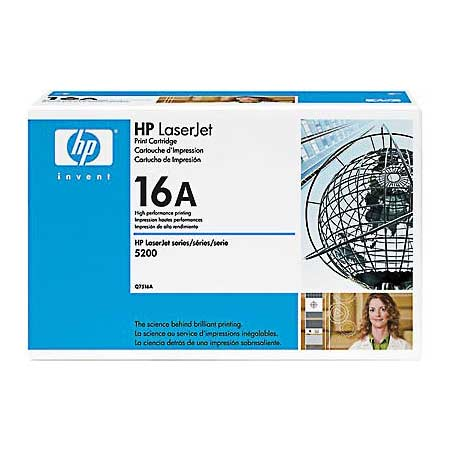 HP LaserJet 16A (Q7516A) Original Black Toner Cartridge