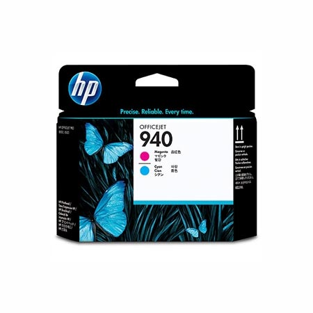 HP 940 Original Magenta and Cyan Officejet Printhead