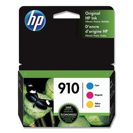 HP 910 (3YN97AN) Color Original Standard Capacity Ink Cartridge Multipack (3 Pack)