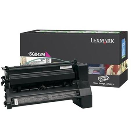 Lexmark 15G042M Original Return-Program Magenta High Yield Toner Cartridge