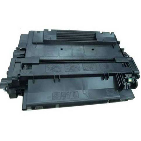 Compatible Black HP 55X High Yield Toner Cartridge (Replaces HP CE255X)