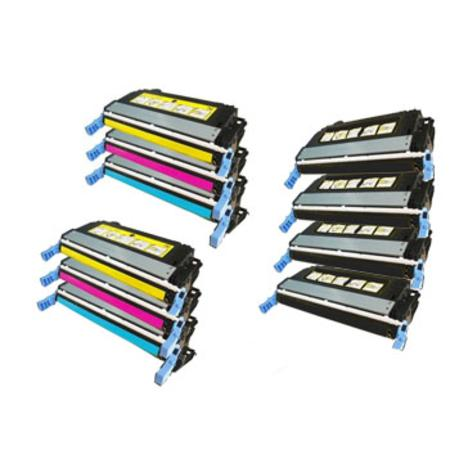 Q5950A/53A 2 Full Sets + 2 EXTRA Black Remanufactured Toner Cartridge