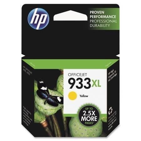 HP 933XL Yellow Original High Capacity Ink Cartridge (CN056AN)