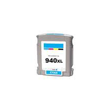 HP 940XL Remanufactured Cyan Officejet Ink Cartridge