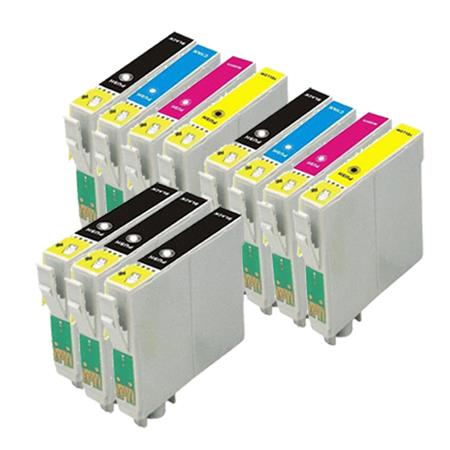 Compatible Multipack Epson T212XL1/T212XL4 2 Full Sets + 3 EXTRA Black Ink Cartridges