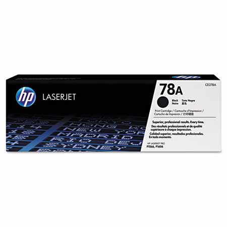 HP 78A Black Original Toner Cartridge (CE278A)