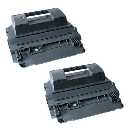 64A Black Remanufactured Toner Cartridges Twin Pack