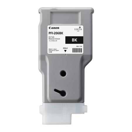Canon PFI-206BK (5303B001AA) Black Original Ink Cartridge
