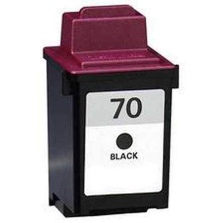 Lexmark No. 70 (12A1970) Black Remanufactured Standard Yield Print Cartridge