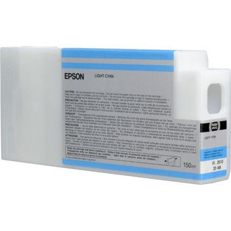 Epson T8345 (T834500) Light Cyan Original UltraChrome HDX Ink Cartridge (150 ml)