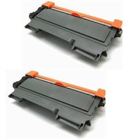TN450 Black Remanufactured Toners Twin Pack
