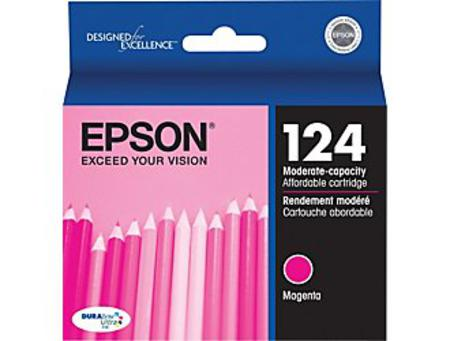 Epson 124 Magenta Original Moderate Capacity Ink Cartridge