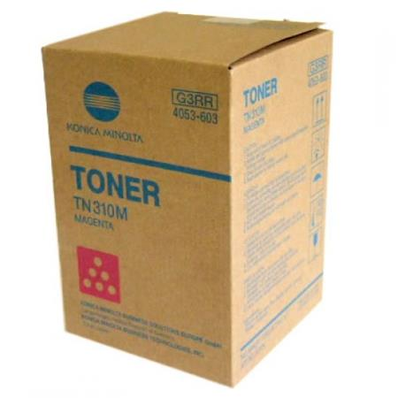 Konica-Minolta 4053-601 Magenta Original Toner Cartridge TN310