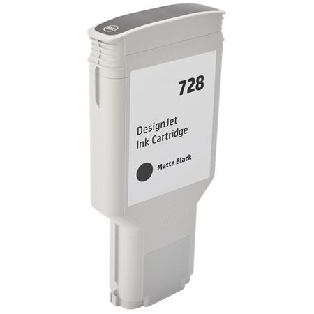 Compatible Matte Black HP 728 High Yield Ink Cartridge (Replaces HP F9J68A)