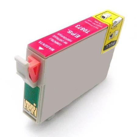 Epson T0873 (T087320) Magenta Remanufactured Cartridge