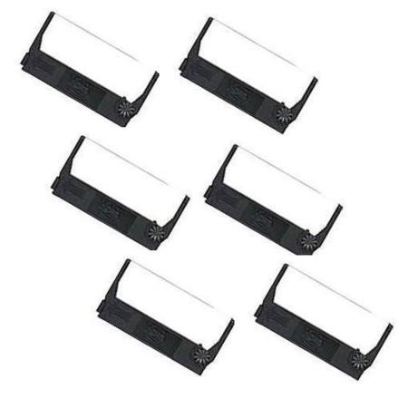 Epson ERC-23 Purple Compatible Printer Ribbon (6 Pack)